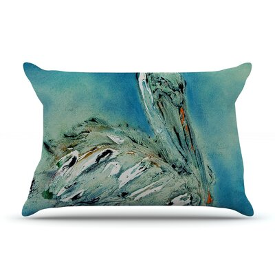 Drifter by Josh Serafin Featherweight Pillow Sham Size: Queen, Fabric: Woven Polyester