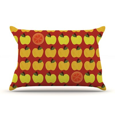 Seasons Autumn by Jane Smith Featherweight Pillow Sham Size: Queen, Fabric: Woven Polyester