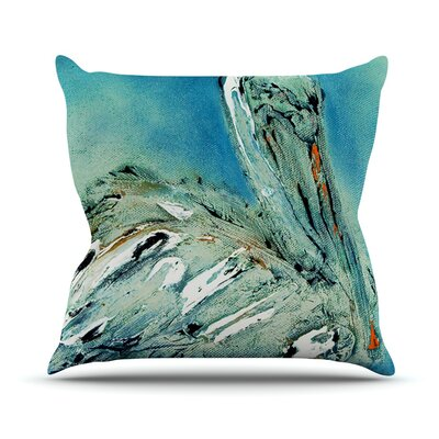 Drifter by Josh Serafin Throw Pillow Size: 20 H x 20 W x 4 D