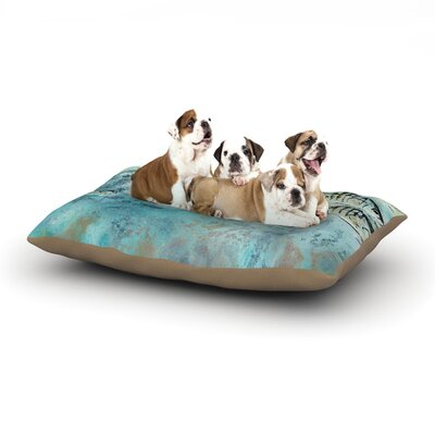 Josh Serafin Surf Perch Dog Pillow with Fleece Cozy Top Size: Large (50 W x 40 D x 8 H)