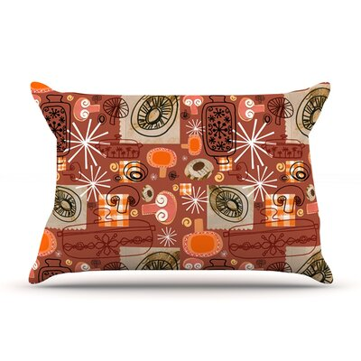Vintage Kitchen by Jane Smith Featherweight Pillow Sham Size: King, Fabric: Woven Polyester