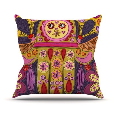 Indian Jewelry by Jane Smith Throw Pillow Size: 18 H x 18 W x 3 D