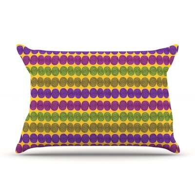 Under the Sea Shells by Jane Smith Featherweight Pillow Sham Size: Queen, Fabric: Woven Polyester