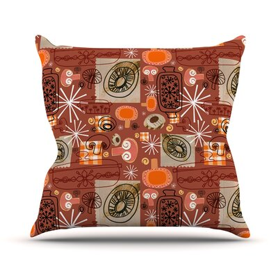 Vintage Kitchen by Jane Smith Throw Pillow Size: 26 H x 26 W x 5 D