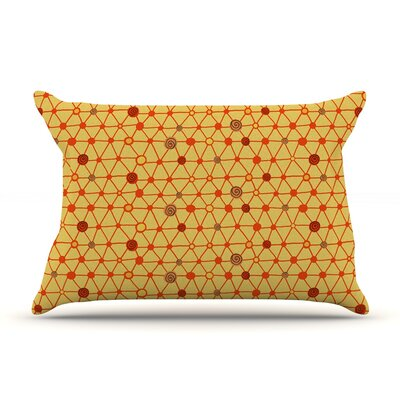Vintage Playground by Jane Smith Featherweight Pillow Sham Size: King, Fabric: Woven Polyester