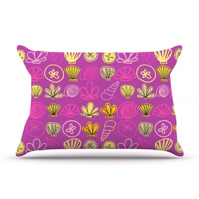 Under the Sea Mermaid by Jane Smith Featherweight Pillow Sham Size: Queen, Fabric: Woven Polyester