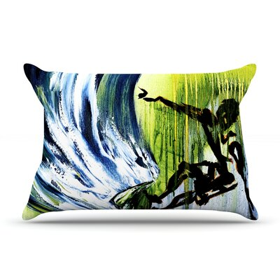 Josh Serafin Greenroom Surfer Pillow Case
