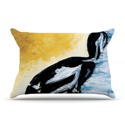 Hangin 10 by Josh Serafin Featherweight Pillow Sham Size: Queen, Fabric: Woven Polyester