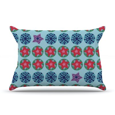 Seasons Winter by Jane Smith Featherweight Pillow Sham Size: King, Fabric: Woven Polyester
