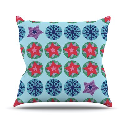 Seasons Winter by Jane Smith Throw Pillow Size: 18 H x 18 W x 3 D