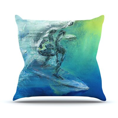 September High by Josh Serafin Throw Pillow Size: 16 H x 16 W x 3 D