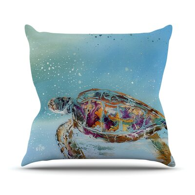 Home Sweet Home by Josh Serafin Throw Pillow Size: 18 H x 18 W x 3 D