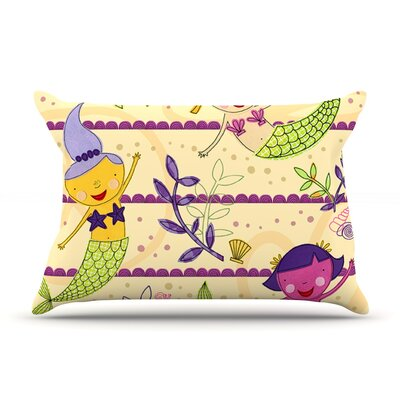 Under the Sea by Jane Smith Featherweight Pillow Sham Size: King, Fabric: Woven Polyester