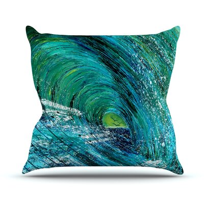 Natural High by Josh Serafin Throw Pillow Size: 20 H x 20 W x 4 D