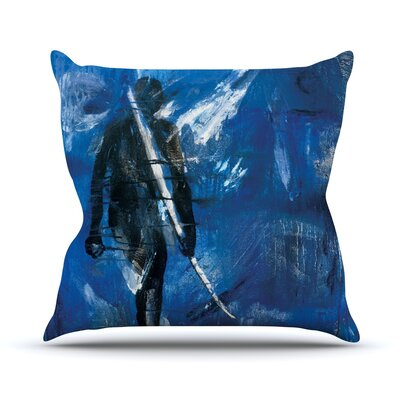 Release by Josh Serafin Throw Pillow Size: 16 H x 16 W x 3 D