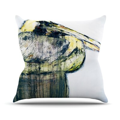 Oldtimer by Josh Serafin Bird Throw Pillow Size: 26 H x 26 W x 5 D
