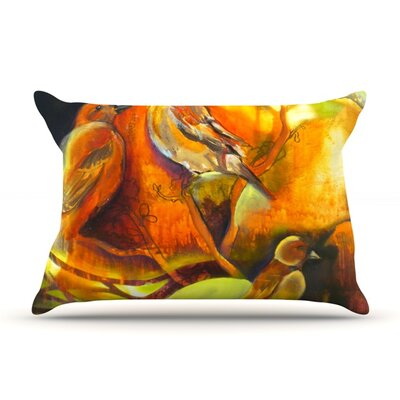 Reflecting Light by Kristin Humphrey Featherweight Pillow Sham Size: Queen, Fabric: Woven Polyester