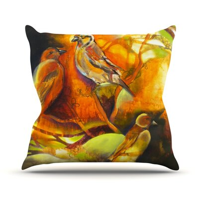 Reflecting Light Throw Pillow Size: 18 H x 18 W