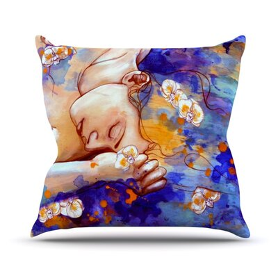 A Deeper Sleep Throw Pillow Size: 16 H x 16 W