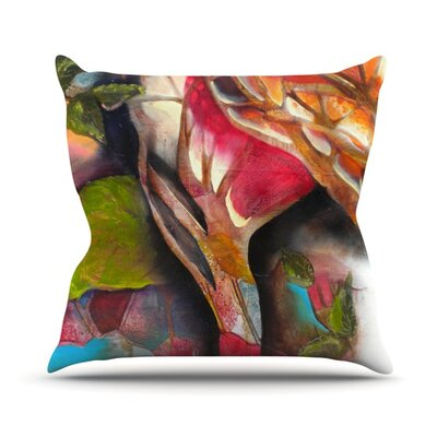 Glimpse Throw Pillow Size: 16 H x 16 W