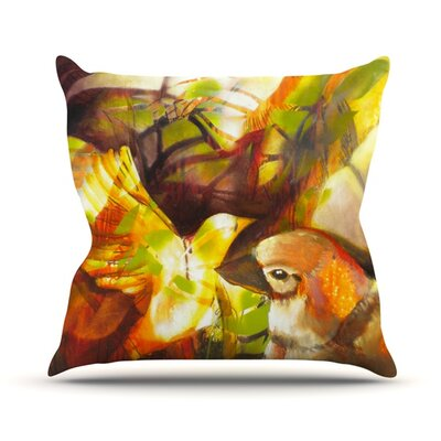 Memory Outdoor Throw Pillow Size: 16 H x 16 W x 3 D
