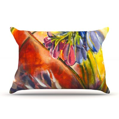 Progression by Kristin Humphrey Featherweight Pillow Sham Size: King, Fabric: Woven Polyester