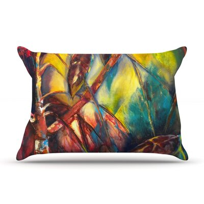 Growth by Kristin Humphrey Featherweight Pillow Sham Size: King, Fabric: Woven Polyester