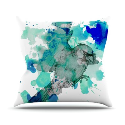 A Cardinal Throw Pillow Size: 18 H x 18 W