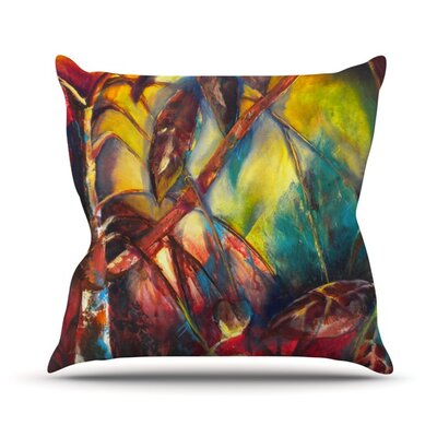 Growth Throw Pillow Size: 18 H x 18 W