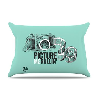 Picture Me Rollin Featherweight Pillow Sham Size: King, Fabric: Woven Polyester