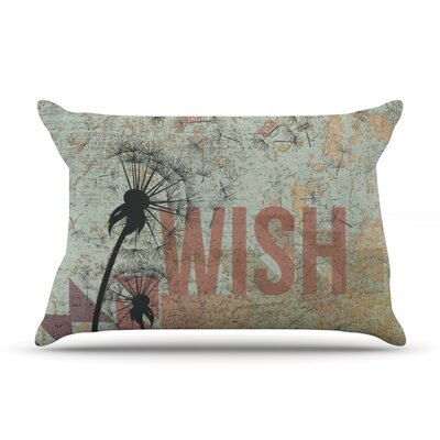 Wish Featherweight Pillow Sham Size: Queen, Fabric: Woven Polyester