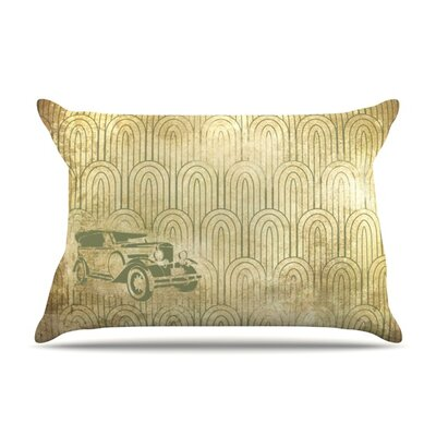 Deco Car Featherweight Pillow Sham Size: Queen, Fabric: Woven Polyester