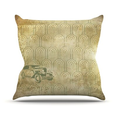 Deco Car Throw Pillow Size: 26 H x 26 W x 5 D