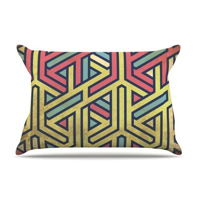 Deco Featherweight Pillow Sham Size: Queen, Fabric: Woven Polyester