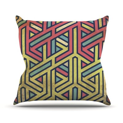 Deco Throw Pillow Size: 16 H x 16 W x 3.7 D