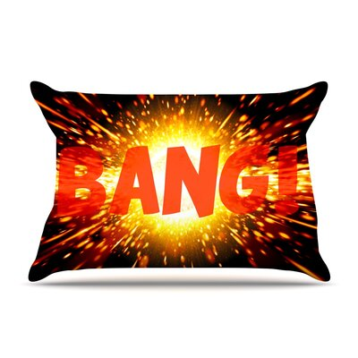 Bang Featherweight Pillow Sham Size: King, Fabric: Woven Polyester