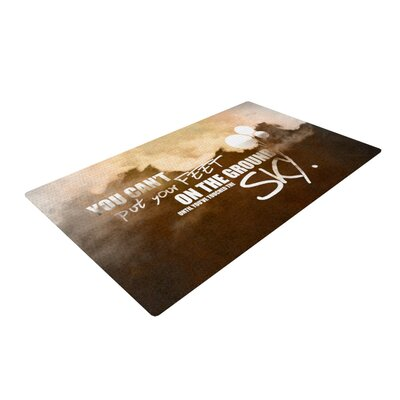 Touch the Sky Novelty Rug Rug Size: 4 x 6