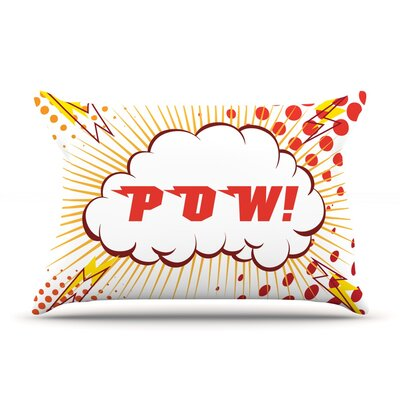 Pow! Cartoon Pillow Case