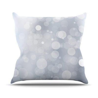Glass Bokeh Throw Pillow Size: 18 H x 18 W x 3 D