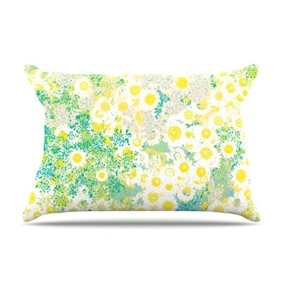 Myatts Meadow by Kathryn Pledger Featherweight Pillow Sham Size: Queen, Fabric: Woven Polyester