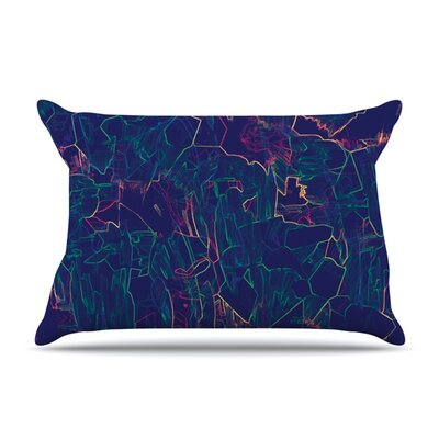 Night Life by Kathryn Pledger Featherweight Pillow Sham Size: Queen, Fabric: Woven Polyester