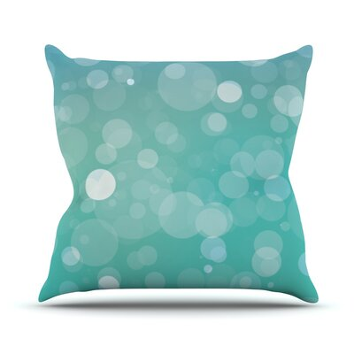 Let It Go Bokeh Throw Pillow Size: 18 H x 18 W x 3 D