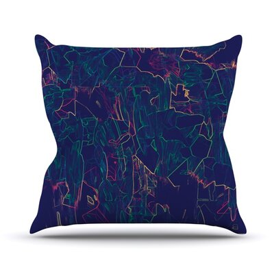 Night Life Throw Pillow Size: 20 H x 20 W 4.5 D