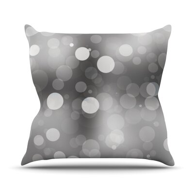 Spectral Bokeh Throw Pillow Size: 16 H x 16 W x 3 D