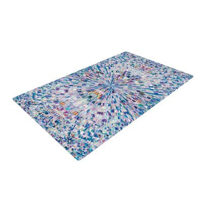 Looking Blue Area Rug Rug Size: 4 x 6