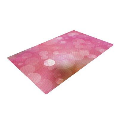 Gypsy Bokeh Pink Area Rug