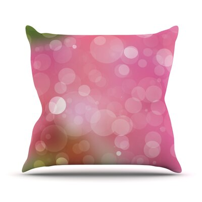 Gypsy Bokeh Throw Pillow Size: 20 H x 20 W x 4 D