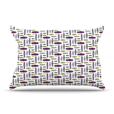 Pods by Laurie Baars Featherweight Pillow Sham Size: King, Fabric: Cotton
