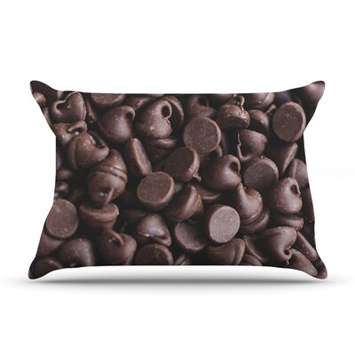 Yay! Chocolate by Libertad Leal Featherweight Pillow Sham Size: Queen, Fabric: Woven Polyester