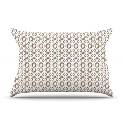 Hexy Small by Laurie Baars Featherweight Pillow Sham Size: King, Fabric: Woven Polyester